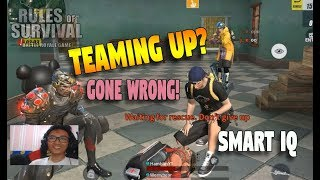 Download LvL999 SMART IQ TEAM UP GONE WRONG!! (Rules of Survival: Battle Royale) Ft.Worrybear Video