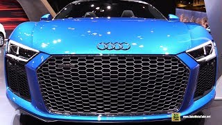 Download 2017 Audi R8 Spyder - Exterior and Interior Walkaround - 2017 Chicago Auto Show Video