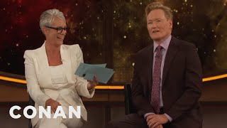 Download Jamie Lee Curtis Gives Conan The Comic-Con® Citizenship Test - CONAN on TBS Video