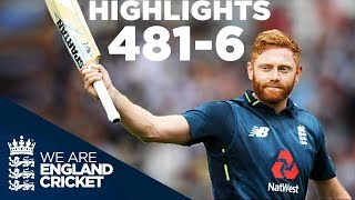 Download England Smash World Record 481-6 | England v Australia 3rd ODI 2018 - Highlights Video
