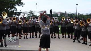 Download New Orleans All-Star Band - Baritone Fanfare @ the 2017 Independence Day Showdown Video