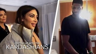 Download Kim And Tristan Thompson Come Face To Face In Khloe's Delivery Room | KUWTK | E! Video