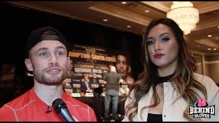 Download CARL FRAMPTON TALKS RING MAG COVER/ ″IF YOU THINK LEO WON THE LAST FIGHT, YOU DON'T KNOW BOXING!″ Video
