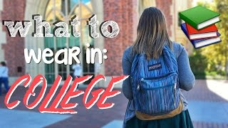 Download WHAT TO WEAR IN COLLEGE Video