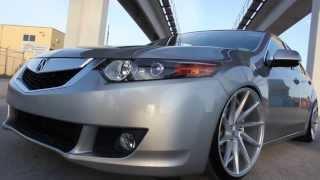 Download Team BeStanced Slammed Acura TSX on Vossen CVTs Video