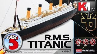 Download Academy RMS Titanic (1:1000) Video