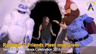Download Rudolph and Friends meet guests during SeaWorld's Christmas Celebration 2016 Video