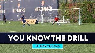 Download Deco & Rivaldo v Bullard & Fenners | FC Barcelona | You Know The Drill Video