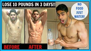 Download WATER FASTING - LOSE 10 POUNDS IN 3 DAYS (NO FOOD) Video