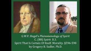 Download Half Hour Hegel: Phenomenology of Spirit (Spirit That Is Certain Of Itself - Morality, sec. 596-598) Video