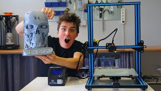 Download Is the Creality CR-10 Safe? - BIG 3D Printed Terminator Head!!! Video