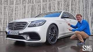 Download The Mercedes-AMG S63 is a TECHNOLOGY POWERHOUSE! Video