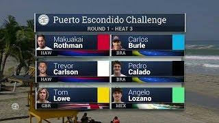 Download Puerto Escondido Challenge Round One, Heat 3 Video