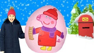 Download Peppa Pig - The Lost Christmas List & Peppa's Christmas 2017 Tree 🎄 Elf on the Shelf 🎄Learn Colors Video