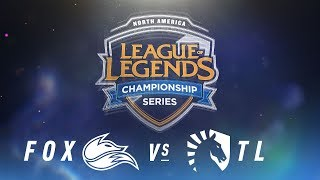 Download FOX vs. TL - Week 6 Day 2 | NA LCS Spring Split | Echo Fox vs. Team Liquid (2018) Video