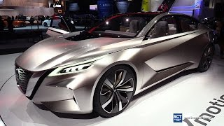 Download 2018 Nissan Vmotion 2.0 Concept - Exterior and Interior Walkaround - Debut at 2017 Detroit Auto Show Video