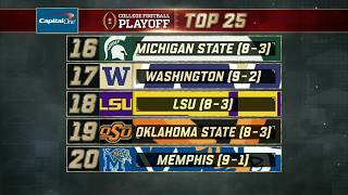 Download Michigan State stays steady in Week 13 of the College Football Playoff Rankings | ESPN Video