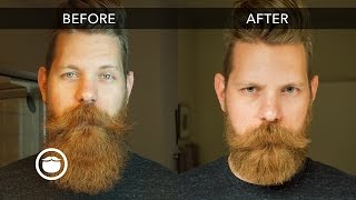 Download How to Trim Your Beard with Scissors | Eric Bandholz Video