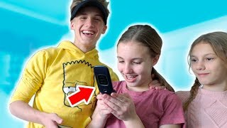 Download Abby Gets Her First CELL PHONE Video