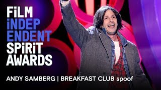Download Andy Samberg | Breakfast Club in memoriam tribute | 2018 Film Independent Spirit Awards Video
