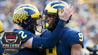 Download Michigan crushes Penn State 42-7 | College Football Highlights Video