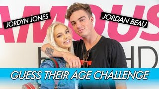 Download Jordyn Jones vs. Jordan Beau || Guess Their Age Challenge! Video
