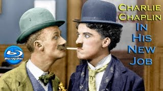 Download Charlie Chaplin In His New Job (1915) Full Movie [BluRay 1080p] Video