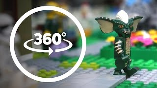 Download LEGO Minifigures Are In Danger VR 360 Part 3 Funny Stop Motion Animation Video