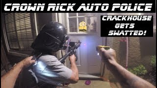 Download Crackhouse Raid Leaves Funny Man Dead! Crown Rick Auto Police SWATTED! Video