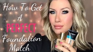 Download Find Your PERFECT Foundation Shade! Tips for Matching and Custom Blending Video