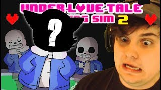 Download DATING SANS... This Went Horribly Wrong!! | UnderLOVETale - An Undertale Dating Sim GAME Video
