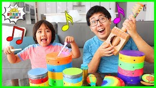 Download How to make DIY Musical Instruments for Kids!! Video