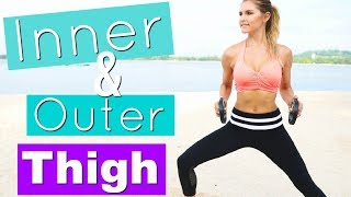 Download Inner & Outer Thigh Workout | Rebecca Louise Video