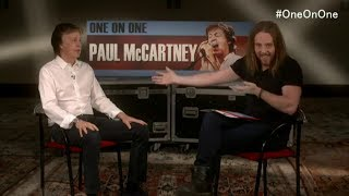 Download Live Q&A Paul McCartney with Tim Minchin announcing new OneOnOne tour Video