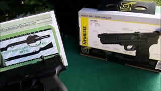 Download Webley Nemesis 4,5 mm Co2 Pistole Diabolo / FirstLook & Defekt by WPU Video