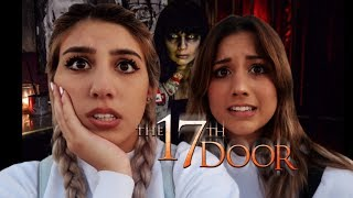 Download WE HAD TO SIGN A WAIVER TO GO THROUGH THIS INSANE HAUNTED HOUSE (THE 17TH DOOR) Video