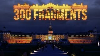 Download 300 Fragments - Projection Mapping on Palace of Karlsruhe for KA300 by Maxin10sity Video