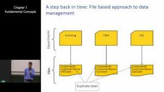Download Introduction to Database Management Systems 1: Fundamental Concepts Video