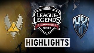 Download VIT vs. H2K - EU LCS Week 8 Day 2 Match Highlights (Summer 2018) Video