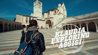 Download Klaudia exploring Assisi - Italy Video