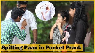 Download Spitting Paan in Pocket Prank on Cute Girls - Ft. Sunny Aryaa - Prank In India | The HunGama Films Video