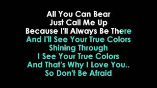 Download Justin Timberlake & Anna Kendrick True Colors karaoke Video