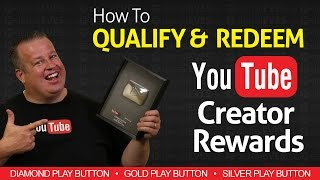 Download How to Redeem YouTube Creator Rewards - Silver Gold & Diamond Play Buttons Video