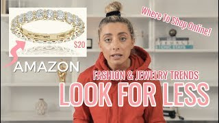 Download LOOK FOR LESS: POPULAR JEWELRY & CLOTHING DUPES! | Lauren Elizabeth Video