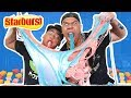 Download DIY GIANT EDIBLE CANDY SLIME!! GIANT STARBURST SLIME ft. Guava Juice Video