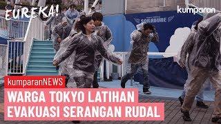 Download Tokyo Uji Coba Evakuasi Warga dari Serangan Rudal Korea Utara | EUREKA! Video