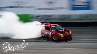 "Download Ferrari powered Toyota ""GT4586"" at Formula Drift Orlando w/ Ryan Tuerck | Donut Media Video"