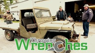 Download Throwing Wrenches Show Episode 3 - 1953 CJ3A Pick Up Truck Fix Video