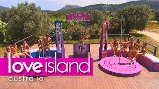 Download Villa games: Who can pole dance the best? | Love Island Australia 2018 Video