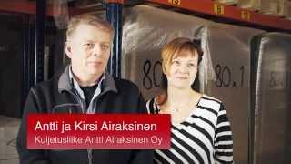 Download Kuljetusliike Airaksinen Yritysesittely Video